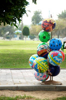 Balloons in a Park