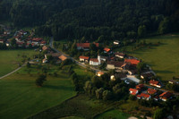 Bavarian Hamlet from Above